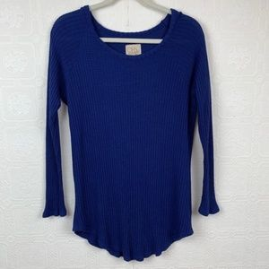 Chaser Thermal Top XL Long Sleeve Blue A98